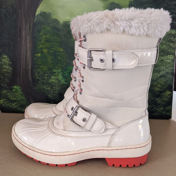 Sperry Top Sider Winter Boots Faux Fur